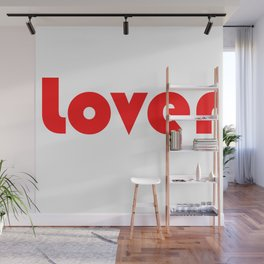 Red Lover Wall Mural