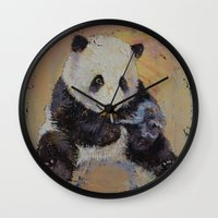 cigarette Wall Clocks featuring Cigarette Break by Michael Creese