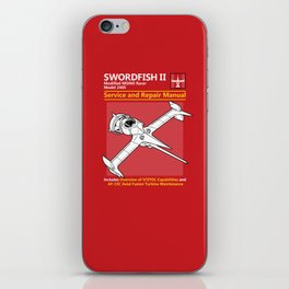 Swordfish Service and Repair Manual iPhone Skin
