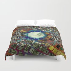 Mosaic Abstract 2 Duvet Cover