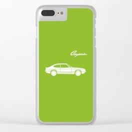 Ford Capri Clear iPhone Case