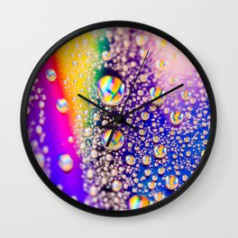 Lisa Frank's Happy Tears Wall Clock