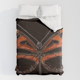 Untitled Butterfly 2 Comforters