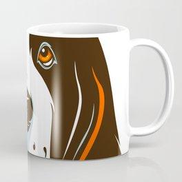 St Bernard Dog face Coffee Mug