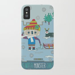 This is not a Monster Christmas iPhone Case