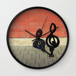 Symphony in Brick Major Wall Clock