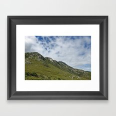 African Mountains Framed Art Print
