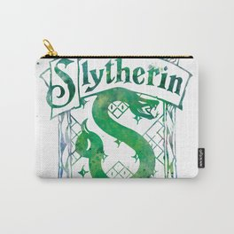 Slytherin Crest Carry-All Pouch