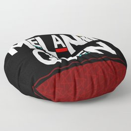Melanin Queen Floor Pillow