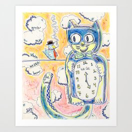 Grab Me While We Still Have The Time Art Print