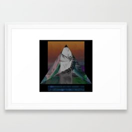 Bermuda Love Triangle Framed Art Print