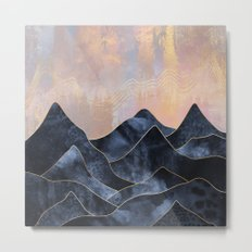 Mountainscape Metal Print