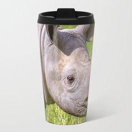 Baby Black Rhino. Travel Mug