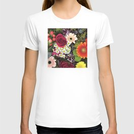 Happy and Bright Floral Bouquet of Joy T-shirt