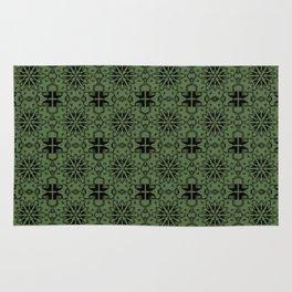 Kale Star Geometric Rug