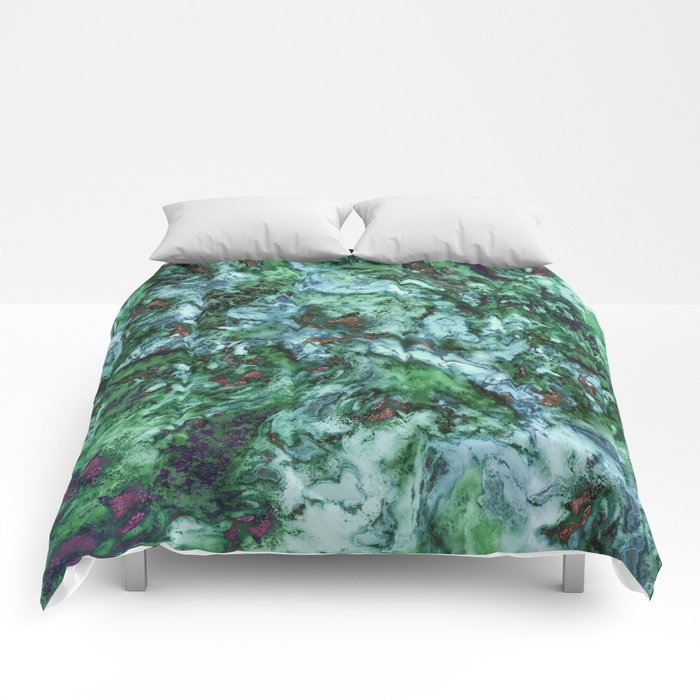 Surface tension Comforters