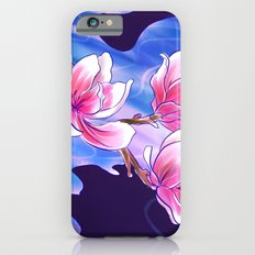 Magnolia night iPhone 6s Slim Case
