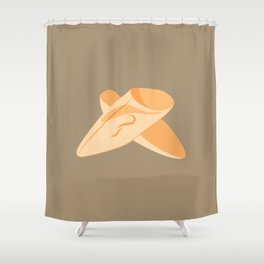 MADE IN MOROCCO #01-THE SLIPPERS Shower Curtain