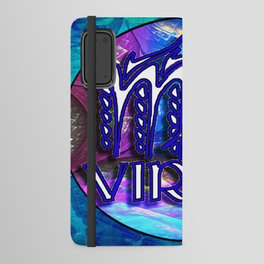 Virgo Astrological Zodiac Sign Psychedelic Horoscope Android Wallet Case