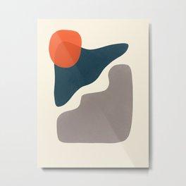 Abstract Shapes # 10 Metal Print