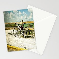 Bicycle on Beach Stationery Cards
