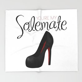 You're My Solemate Throw Blanket