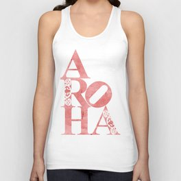 Aroha (Love for the people) Unisex Tank Top