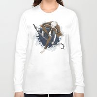 jack frost Long Sleeve T-shirts featuring Jack Frost by Chouly-Shop
