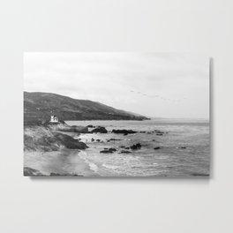 Malibu California Coastline - Leo Carrillo State Park Metal Print