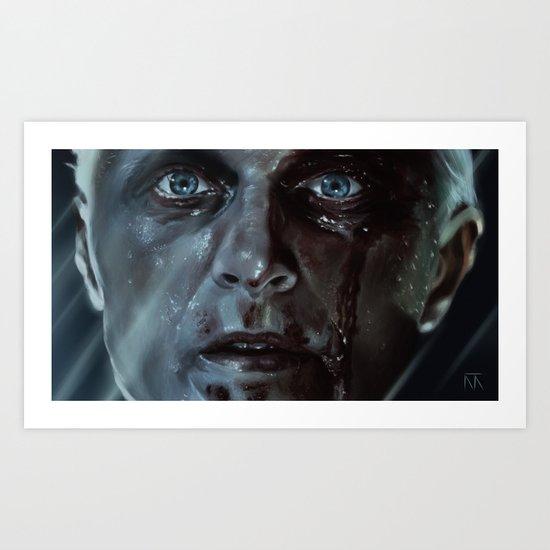 Roy Batty (Blade Runner) Art Print