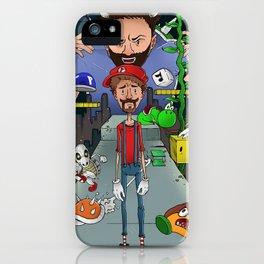 Mario Maker World Championships iPhone Case