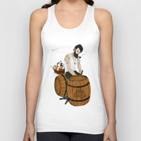 moby Tank Tops featuring Captain Moby by Napa
