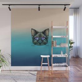Zombie Cat Wall Mural