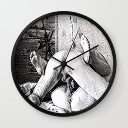 Back & Forth. LoveMakers. Wall Clock