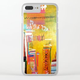 Dinner Abroad Clear iPhone Case