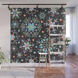 Snowflake Filigree Wall Mural