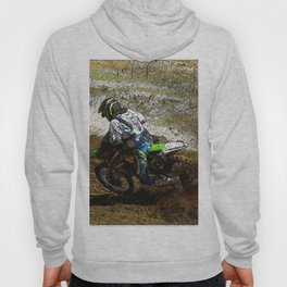 Round the Bend - Dirt-Bike Racing Hoody