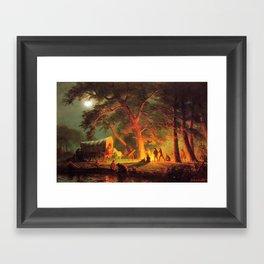 """Albert Bierstadt's """"Oregon Trail"""" 1886 Framed Art Print"""