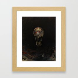 bulb Framed Art Print