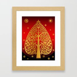 Bodhi Tree0502 Framed Art Print