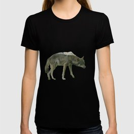 Shaggy wolf T-shirt
