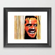 T.S MOVIE Framed Art Print