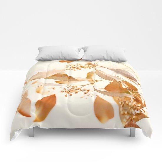 Golden Leaves Comforters