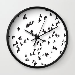 Happy Birds Wall Clock