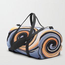 Coloured Wave Duffle Bag
