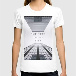 NEW YORK fucking CITY T-shirt