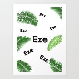 EZE (KING JESUS) Art Print
