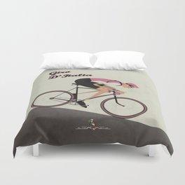 Giro D'Italia Cycling Race Italian Grand Tour Duvet Cover