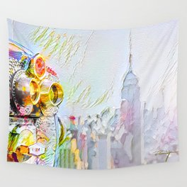 New York Colore Wall Tapestry