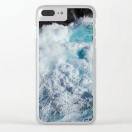 Shetland Sea II Clear iPhone Case